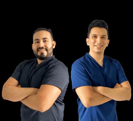 Fisioterapeutas en CDMX Ivan y Omar