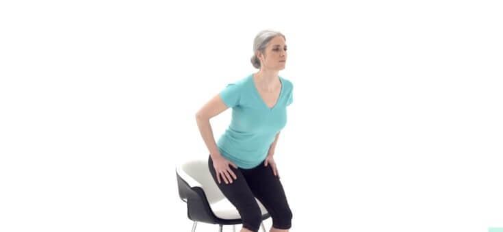 Forma correcta de sentarse